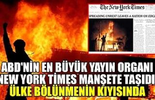 ABD'nin en büyük yayın organı New York Times...