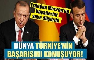 Dünya Türkiye'nin başarısını konuşuyor!...