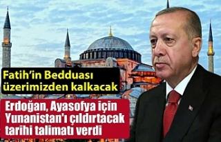 Erdoğan, Ayasofya için Yunanistan'ı çıldırtacak...