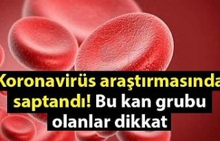 Koronavirüs araştırmasında saptandı! Bu kan grubu...