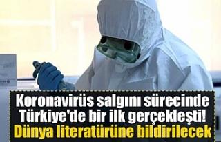 Koronavirüs salgını sürecinde Türkiye'de...