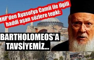 MHP'den Ayasofya Camii ile ilgili haddi aşan...