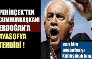 Perinçek'ten Cumhurbaşkanı Erdoğan'a...