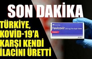 Son dakika: Türkiye, Kovid-19'a karşı kendi...