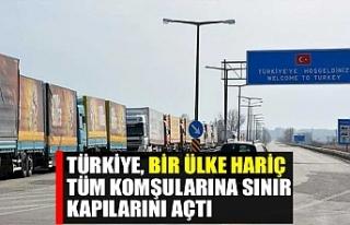 Türkiye, bir ülke hariç tüm komşularına sınır...
