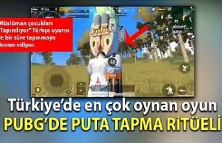 Türkiye'de en çok oynan oyun PUBG'de müslüman...