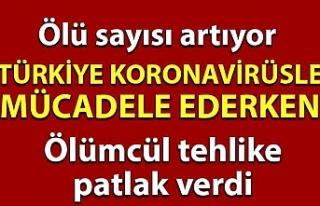 Türkiye koronavirüsle mücadele ederken ölümcül...