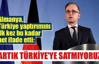 Almanya, Türkiye yaptırımı ilk kez bu kadar net...