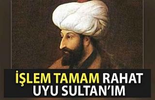 Cumhurbaşkanı Erdoğan namazdan sonra Fatih'in...