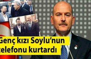Genç kızı İçişleri Bakanı Süleyman Soylu'nun...