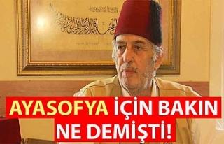Kadir Mısıroğlu, Ayasofya için bakın ne demişti!