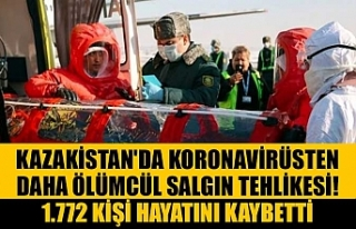 Kazakistan'da koronavirüsten daha ölümcül...