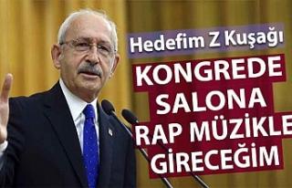 Kılıçdaroğlu Z kuşağını rap müzikle etkilemeyi...