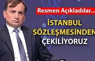 Polonya İstanbul Sözleşmesi'nden çekilmeye...