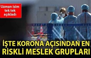 Prof. Dr. Mehmet Ceyhan en riskli meslek gruplarını...