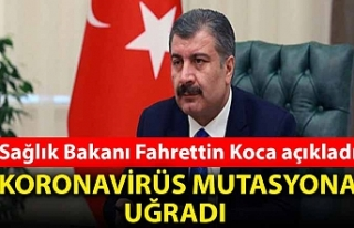 Sağlık Bakanı Fahrettin Koca açıkladı: Koronavirüs...