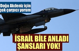 İsrail bile anladı: Şansları yok! Doğu Akdeniz...