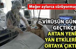 Koronavirüsün gün geçtikçe artan yeni yan etkileri...