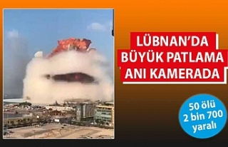 Lübnan'ın başkenti Beyrut'ta patlama!