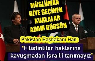 Pakistan Başbakanı Han: Filistinliler haklarına...