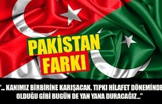 Pakistan'dan Türkiye'ye destek mesajı:...