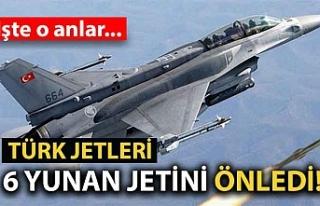 Türk jetleri 6 Yunan jetini önledi! İşte o anlar...