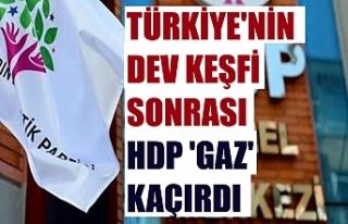 Türkiye'nin dev keşfi sonrası HDP 'gaz'...