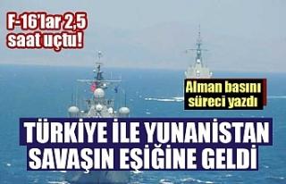 Yunanistan ile Türkiye arasında yaşanan gerilime...