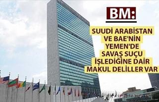 BM: Suudi Arabistan ve BAE'nin Yemen'de...