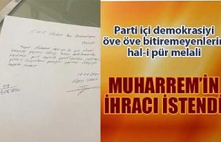 CHP'li Muharrem İnce hakkında ihraç dilekçesi...
