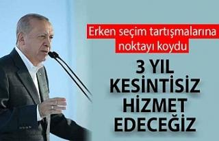 Cumhurbaşkanı Erdoğan Ankara-Niğde Otoyolu'nu...