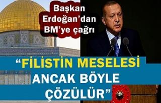Cumhurbaşkanı Erdoğan'dan BM'ye Kudüs...