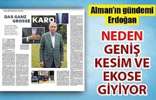 Cumhurbaşkanı Erdoğan'ın ekose ceketleri Almanya'nın...