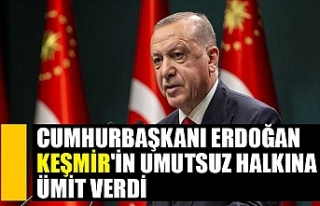 Cumhurbaşkanı Erdoğan Keşmir'in umutsuz halkına...