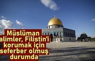 Dünya Müslüman Alimler Birliği Başkanı Raysuni:...