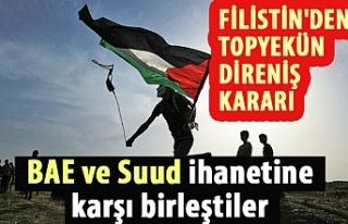 Filistin'den topyekün direniş kararı: BAE...