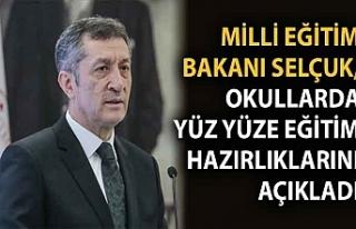 Milli Eğitim Bakanı Selçuk, okullarda yüz yüze...