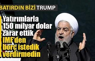 Ruhani: ABD'nin yaptırımları İran'a...