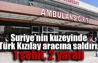 Suriye'nin kuzeyinde Türk Kızılay aracına saldırı:...