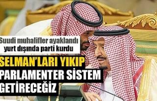 Suudi Arabistanlı muhalifler yurt dışında siyasi...