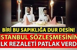 Türkiye'de gerçekleştirilen ilk sapkın evliliğin...