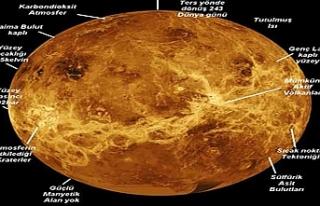 Venüs Gezegeni Hakkında Bilgi; Genel ve Fiziksel...