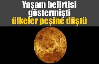 Yaşam belirtisi gösteren Venüs, uzay yarışını...