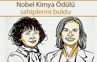 2020 Nobel Kimya Ödülü'nün kazananı belli...