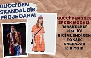 Gucci'den Skandal 2020 Erkek Modası Projesi!