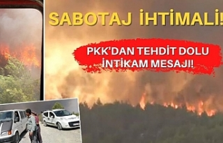 Hatay'daki yangınlarda sabotaj ihtimali!