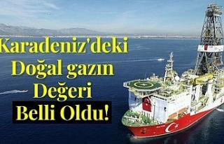 Karadeniz'deki doğal gazın değeri belli oldu!