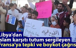 Libya'dan İslam karşıtı tutum sergileyen...