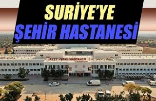MSB'den 'Suriye Azez Vatan Hastanesi'...