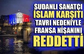 Sudanlı sanatçı İslam karşıtı tavrı nedeniyle...
